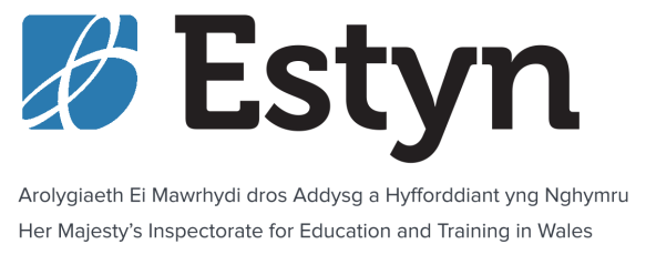 Estyn logo - to be used for all Estyn speakers.png